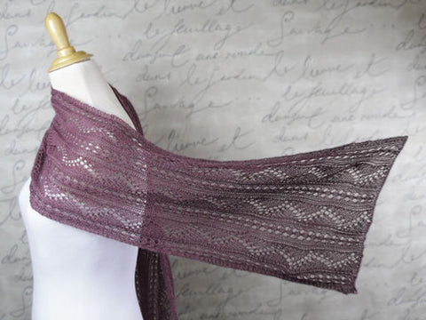 Sugar Plum Dreams Scarf Knitting Pattern | Knit One Crochet Too