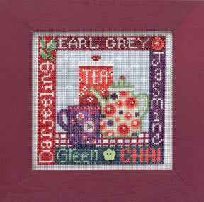Tea Time Cross Stitch Kit | Mill Hill