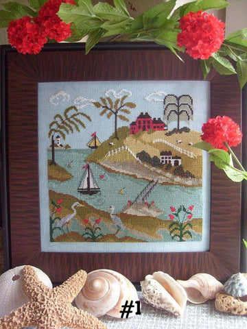 The Tidal River Series  | Cross Stitch | By The Bay Needleart