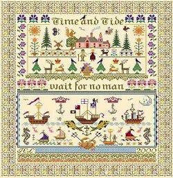 Time & Tide | Cross Stitch | Long Dog Samplers