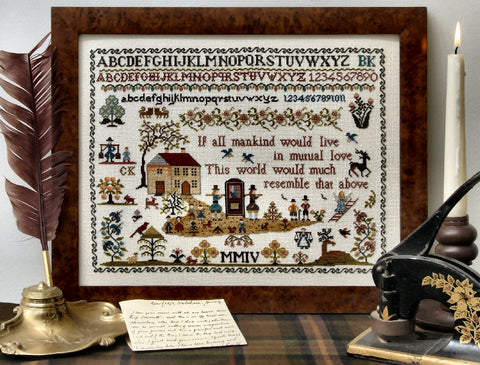 Town & Country | Cross Stitch | Sampler Company