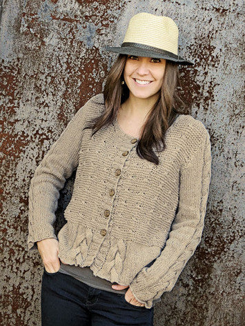 Trestle Cardigan Knitting Pattern | Knit One Crochet Too