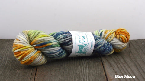 Twisted Owl Superwash Chunky Weight Yarn | Twisted Owl Fiber Studio