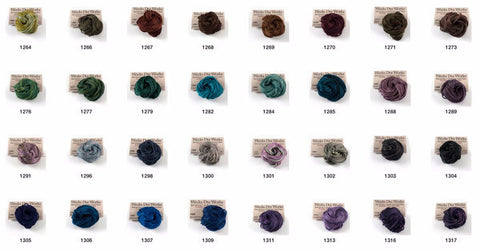 Weeks Dye Works Embroidery Floss 6-Strand | Color Range 1299 - 2239
