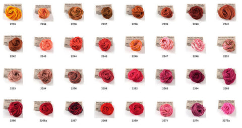 Weeks Dye Works Embroidery Floss 6-Strand | Color Range 2240 - 6850