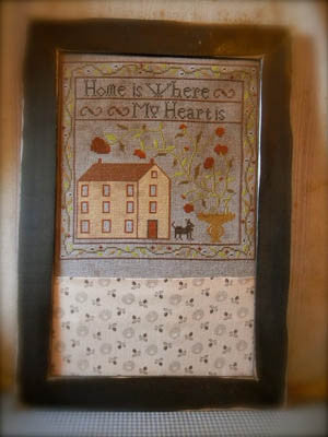 Where My Heart Is Sampler | Cross Stitch | Notforgotten Farm