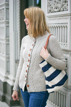 Willakenzie Cardigan Knitting Pattern | Olive Knits