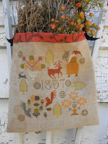 Woodland Christmas | Cross Stitch | Notforgotten Farm