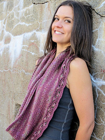 Woven Flowers Infinity Scarf Knitting Pattern   Knit One Crochet Too ...
