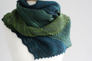Zephyr Cove Shawl Knitting Pattern | Designs by Romi