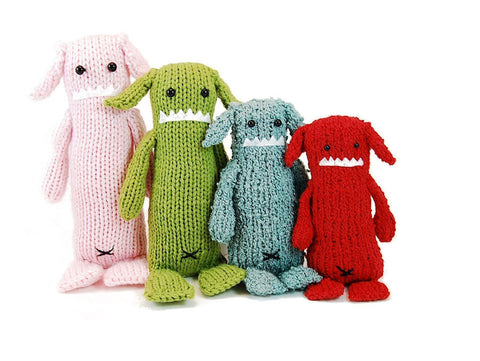 Albert the Absent Minded Monster Knitting Pattern | Danger Crafts