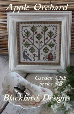 Apple Orchard | Garden Club Series #2 | Cross Stitch | Blackbird Designs