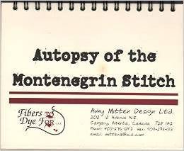 Autopsy of the Montenegrin Stitch | Amy Mitten Designs