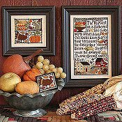 Thanksgiving Comes Again | Book No. 141 | Cross Stitch | Prairie Schooler