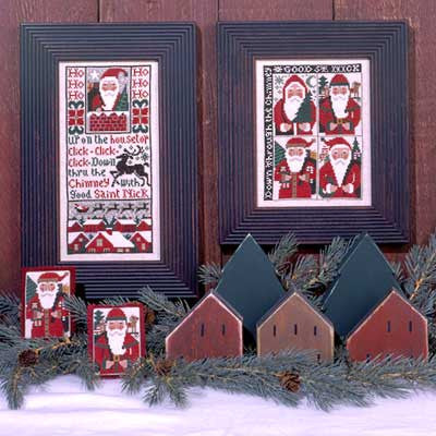 Good Saint Nick  | Book No. 135 | Cross Stitch | Prairie Schooler