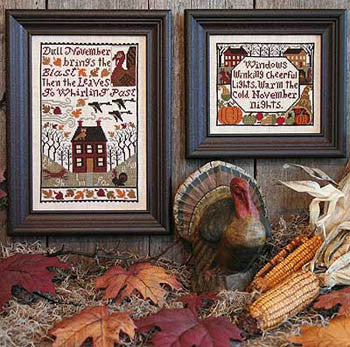 November | Book No. 149 | Cross Stitch | Prairie Schooler