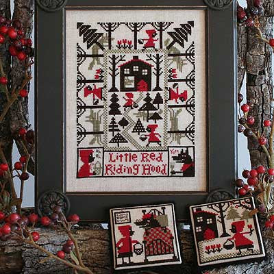 Little Red Riding Hood | Book No. 186 | Cross Stitch | Prairie Schooler