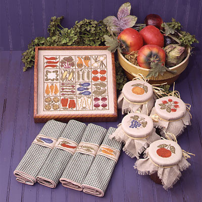 Kitchen Table  | Book No. 78 | Cross Stitch | Prairie Schooler
