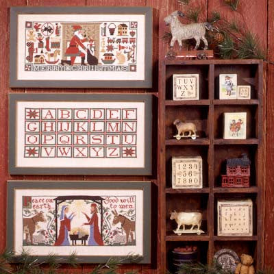 Christmas Traditions | Book No. 95 | Cross Stitch | Prairie Schooler