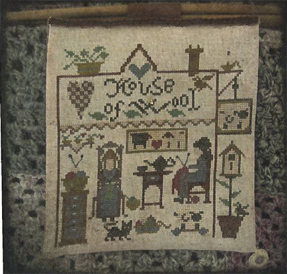 House of Wool Cross Stitch | Niky's Creations