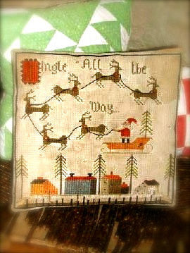 Jingle All the Way Sampler | Cross Stitch | Notforgotten Farm