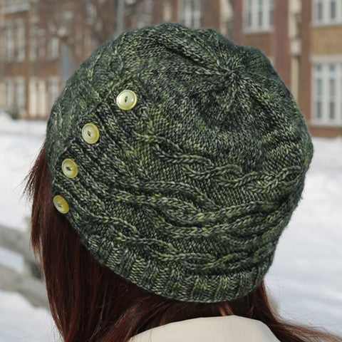 Keelback Hat Knitting Pattern | Triona Designs