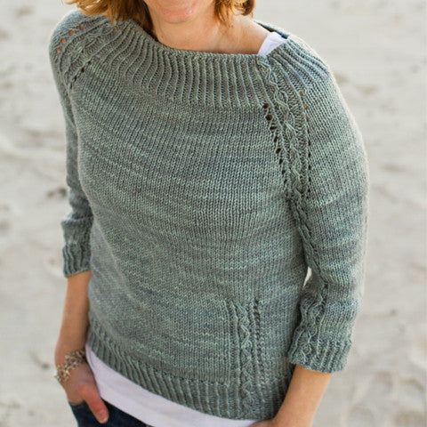 Narragansett Sweater Knitting Pattern | BabyCocktails