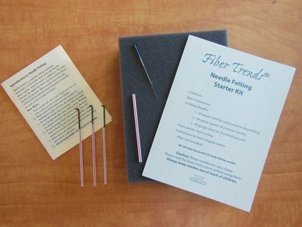 Needle Felting Starter Kit | Fiber Trends