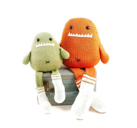 Sammie the Sock Monster Knitting Pattern | Danger Crafts