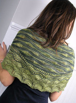 Sea Lettuce Shawl Knitting Pattern | Knit One Crochet Too