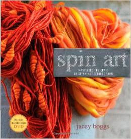 Spin Art: Mastering the Craft of Spinning Textured Yarn | Jacey Boggs