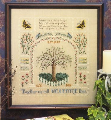 When We Plant A Tree Sampler Cross Stitch | S-1236 | Rosewood Manor