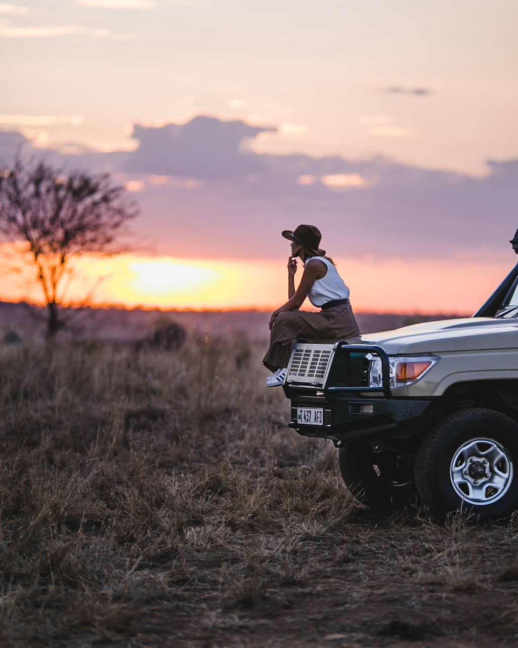 BTS # 3 - African Sunset in Serengeti National Park