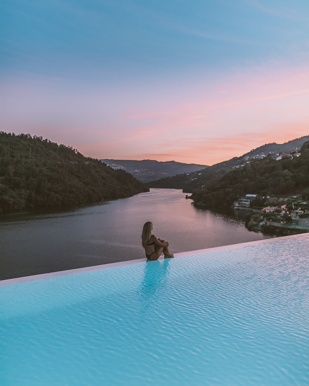 BTS #7 - Sunset in Douro Valley, Portugal