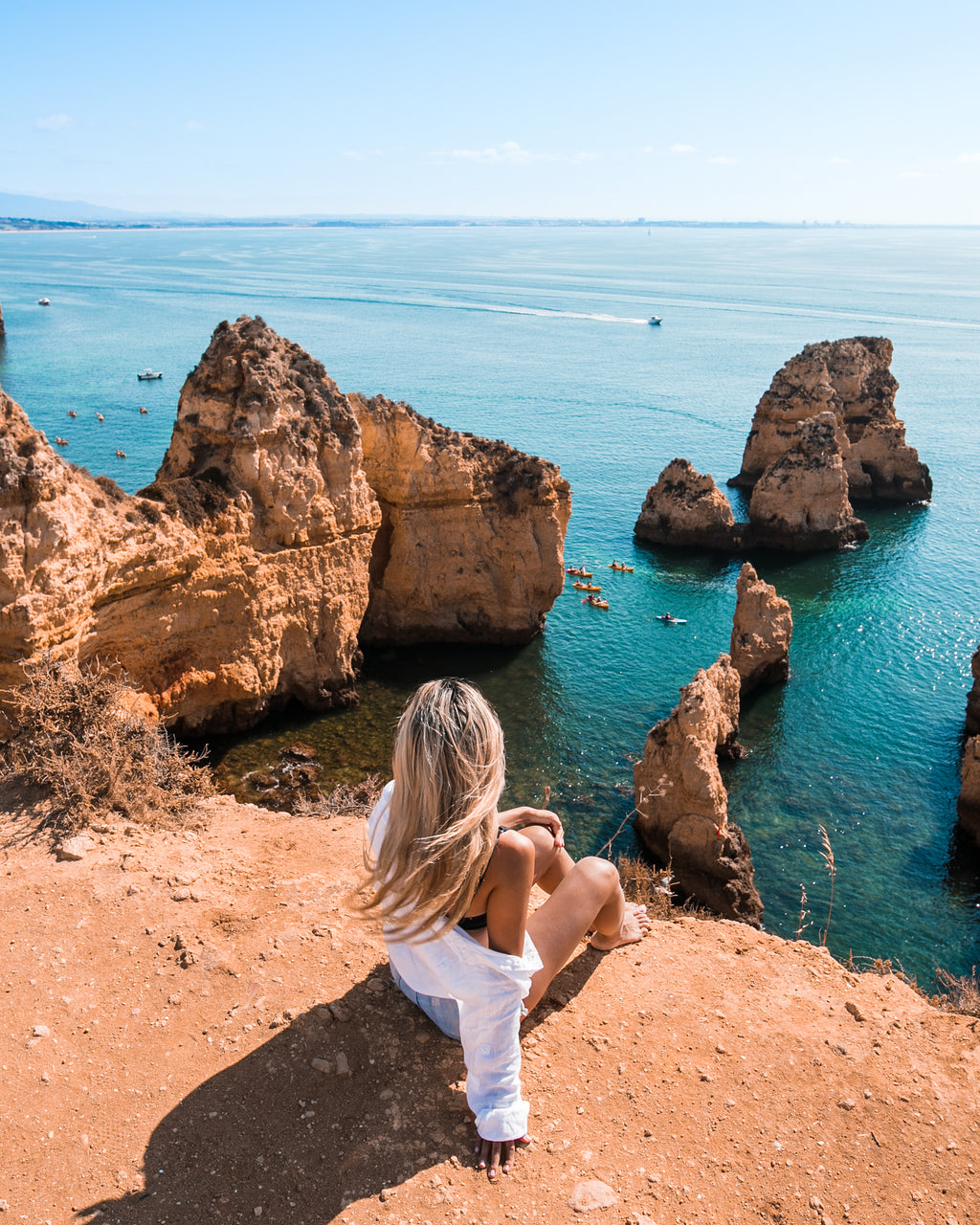 BTS # 5-  Portugal Road Trip: Ponta da Piedade Viewpoint