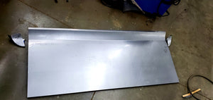 07-13 Chevy Truck Tailgate Skin W/ Pro Touring WING and Bed Caps