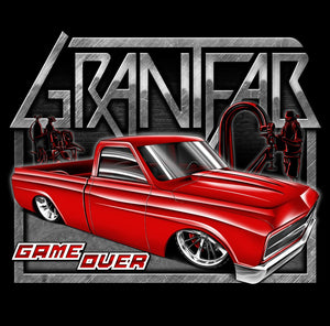 GrantFab Game Over T-Shirt BLACK