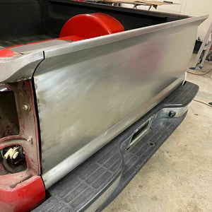 99-06 Chevy Truck Tailgate Skin W/ Pro Touring WING and Bed Caps