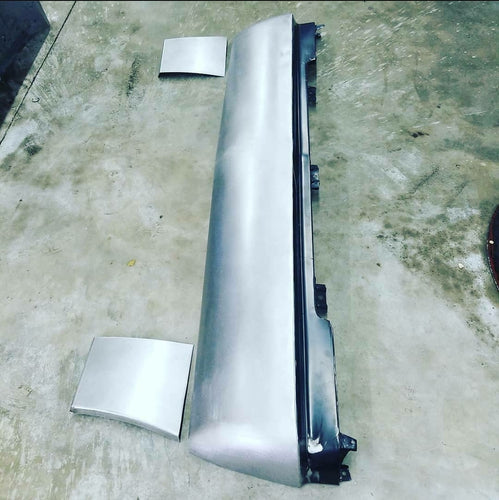 82-90 S-10, S15 and Jimmy Front Chevy Bumper/Rollpan