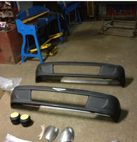 89-94 Toyota Bumper With Scoops