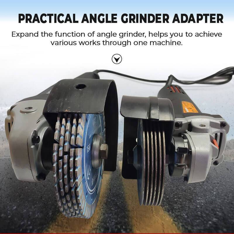 Angle Grinder To Grooving Machine Adapter