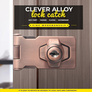 Clever Alloy Lock Catch