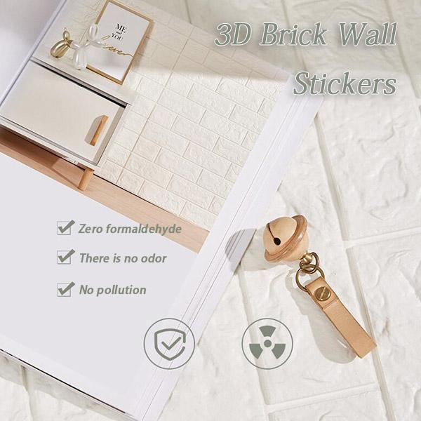 3D Brick Wall Stickers ( 30x50cm )