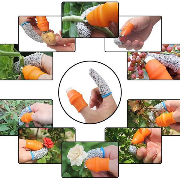 Garden Silicone Thumb Knife