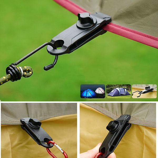 10PCS Tarp Clips Awning Clamp