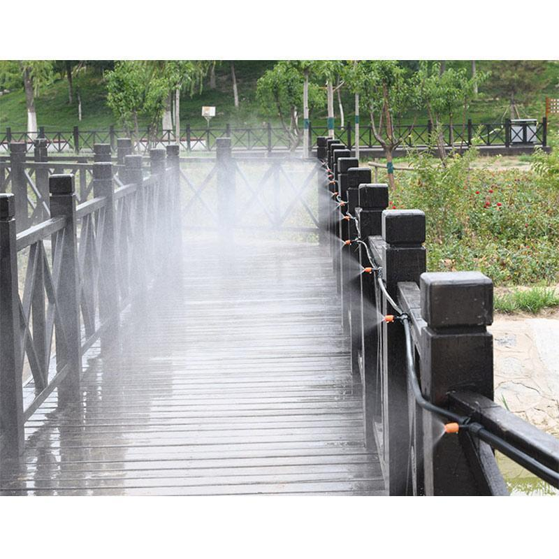 Mist Cooling Automatic Irrigation System