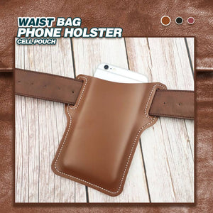 🔥New Year Promotion🔥 Waist Bag Phone Holster Cell Pouch