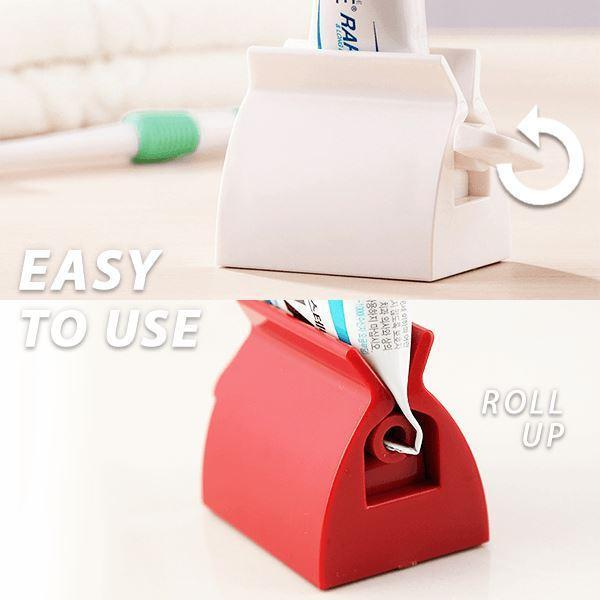 Easy-squeeze Toothpaste Holder