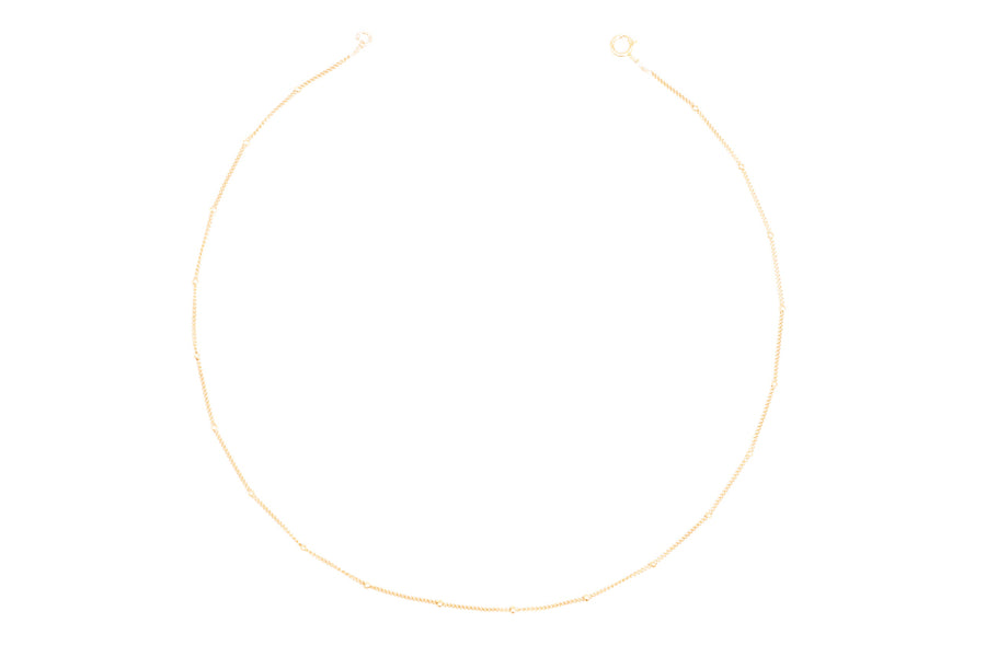 Gold Satellite Choker