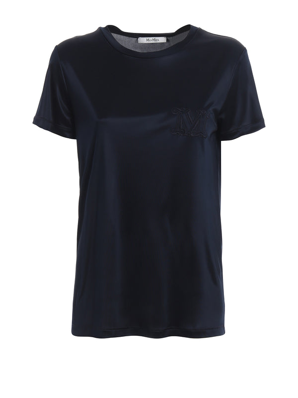 T-SHIRT IN SETA MAXMARA